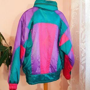 Vintage 80's Coltech ski jacket - amazing 💖💜💙